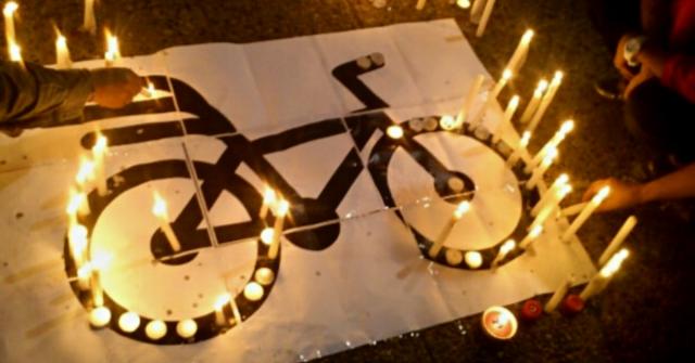 Velatón por la vida de los ciclistas de Armenia, en memoria de Guillermo Cadavid - Noticias de Colombia